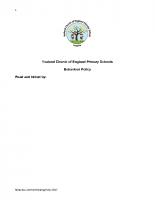 Behaviour Policy final 2017
