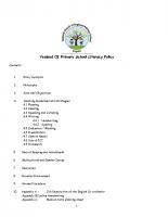 English Policy nov 17